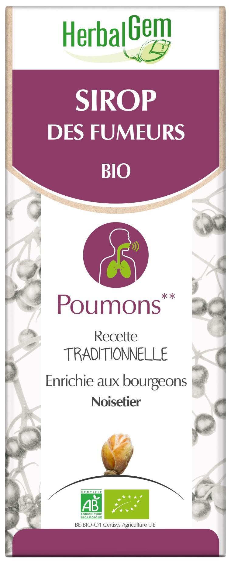 Sirop des Fumeurs Bio 250 ml blanc 658167