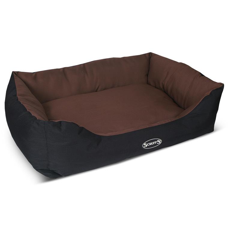 Corbeille pour chien Scruffs Expédition chocolat 90x70 cm 658350