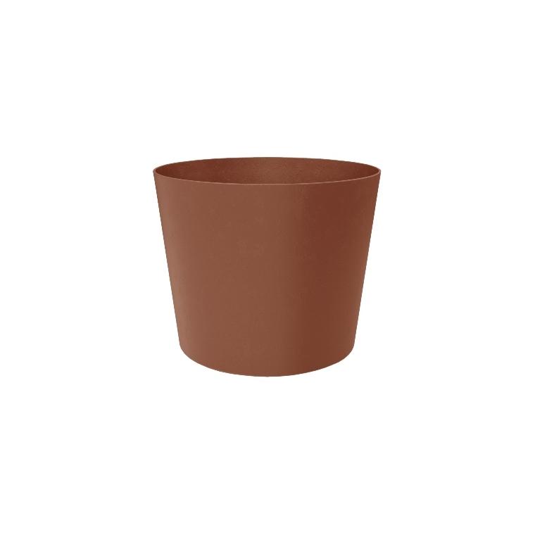Pot Element conique de 30 L coloris marron Ø 39 x 32 cm 658797