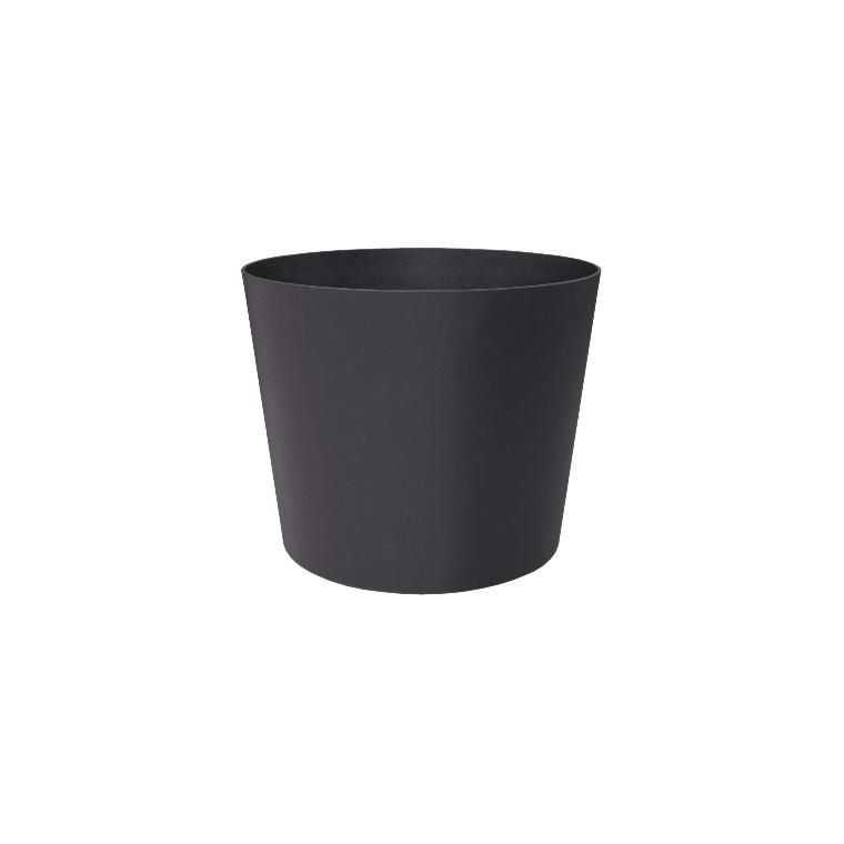 Pot Element conique de 63 L coloris gris ardoise Ø 49 x 42 cm 658798