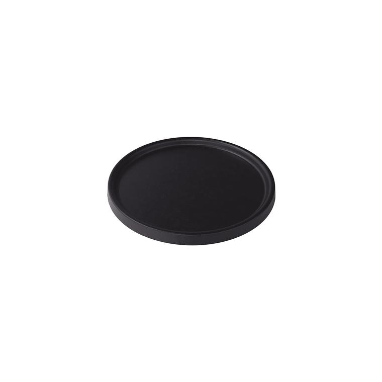 Soucoupe pour pot Element coloris gris ardoise Ø 23,2 x 1,6 cm 658807