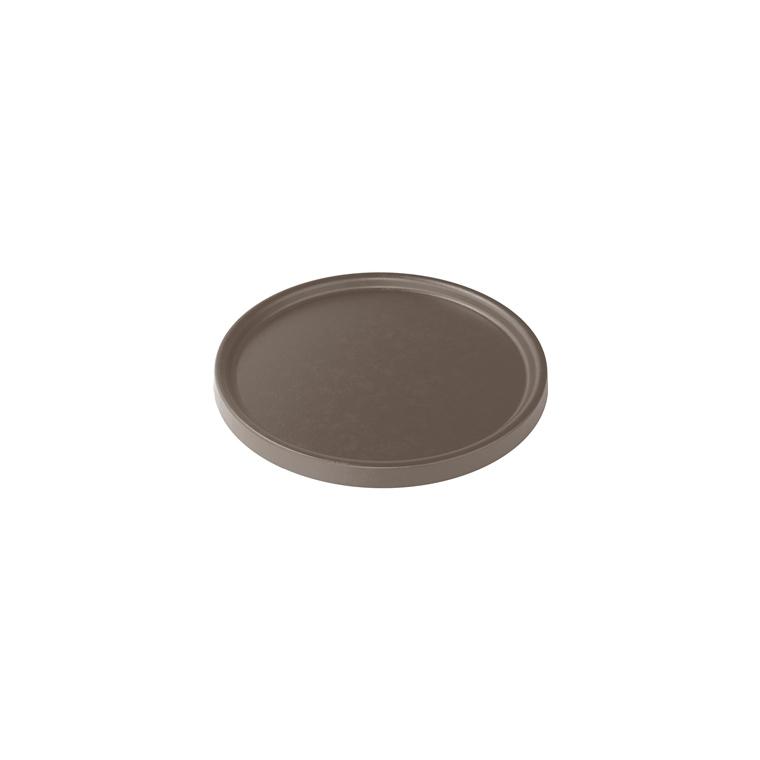 Soucoupe pour pot Element coloris beige calcaire Ø 37,8 x 1,6 cm 658817