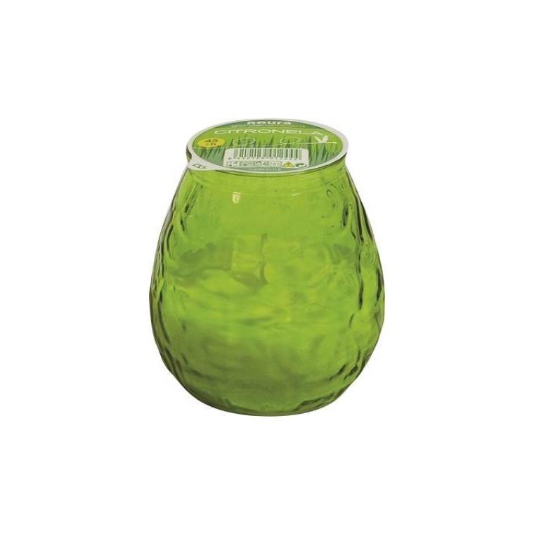 Bougie Bistrot à la citronnelle, coloris vert 659217