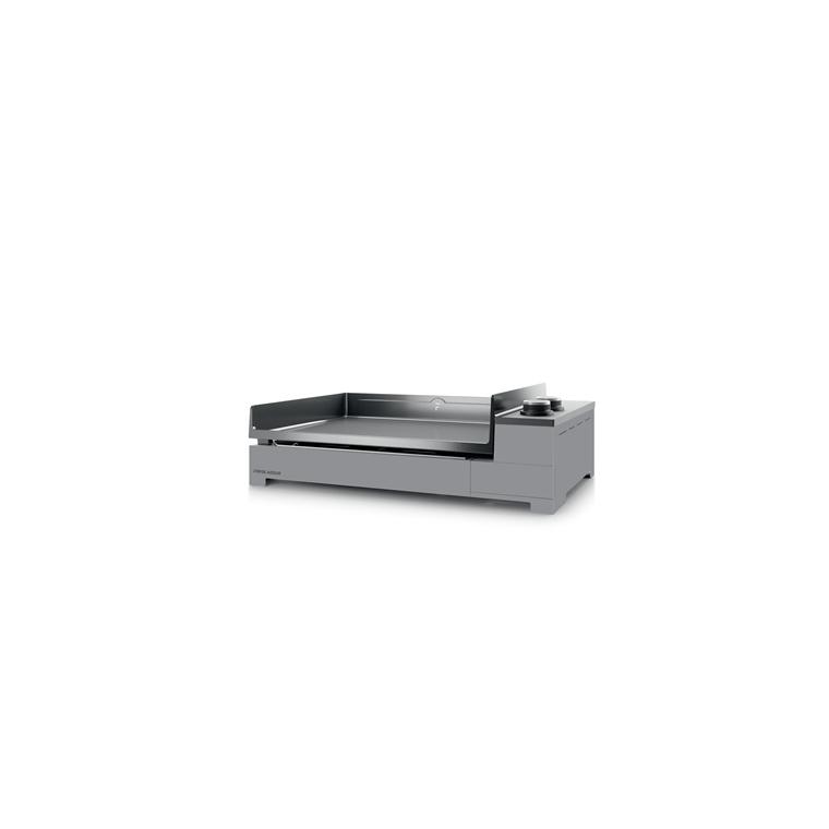 Plancha premium gaz 60 châssis acier noir gris 659315