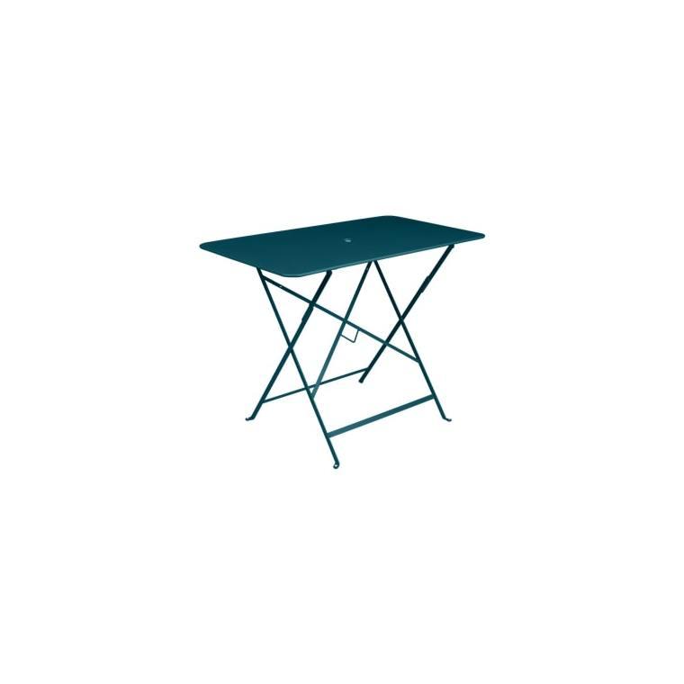 Table pliante Bistro bleu acapulco L97xl57xh74 659357