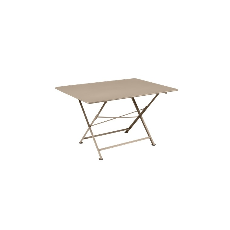 Table pliante Cargo FERMOB muscade L128xl90xh74 659376