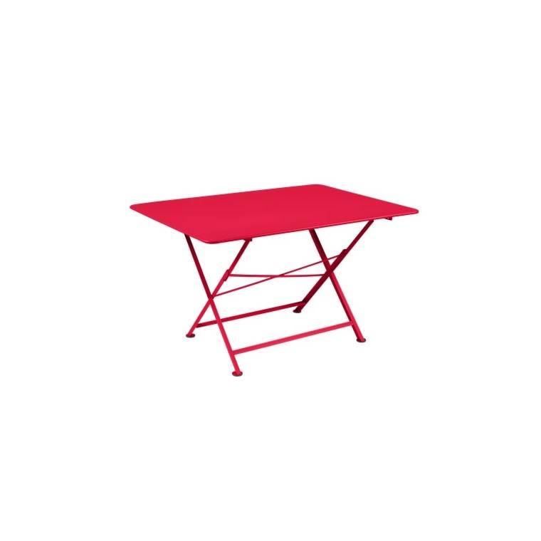 Table pliante Cargo FERMOB rose praline L128xl90xh74 659390