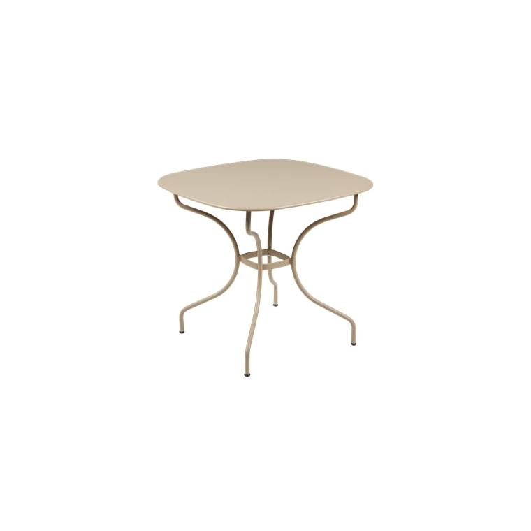 Table Opéra + FERMOB muscade L82xl82xh74 659430
