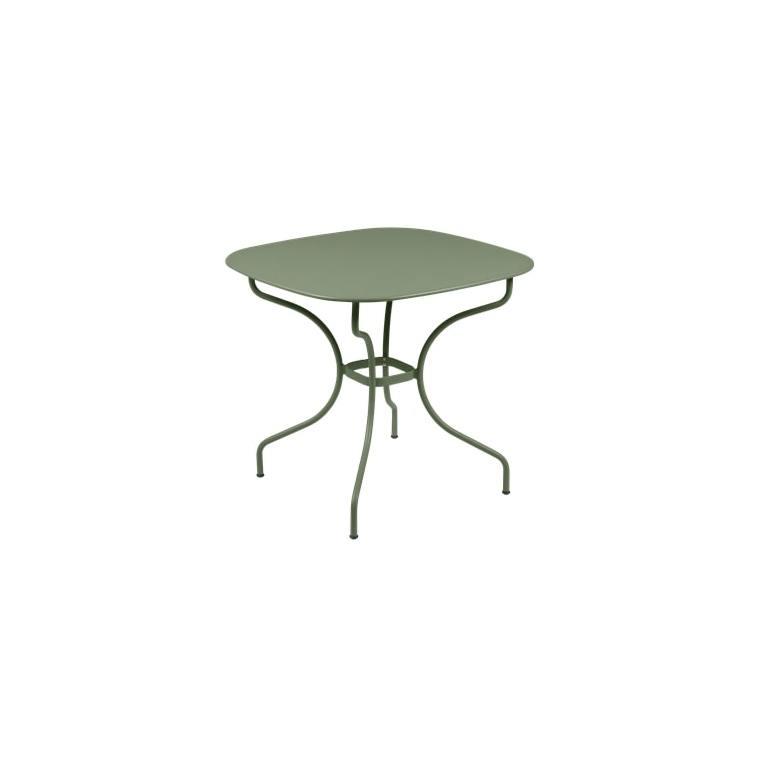 Table Opéra + FERMOB cactus  L82xl82xh74 659442