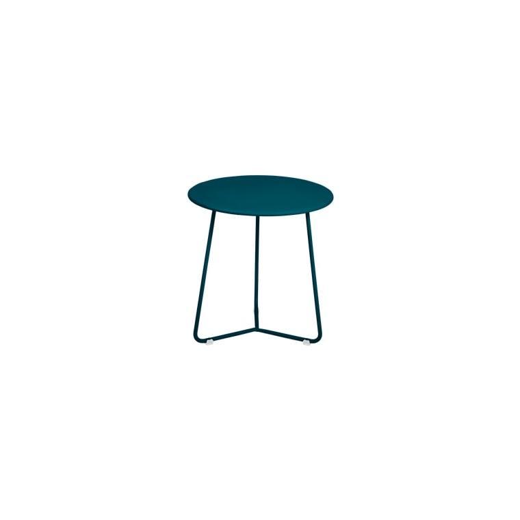 Table d'appoint cocotte FERMOB bleu acapulco Ø34x36 659504