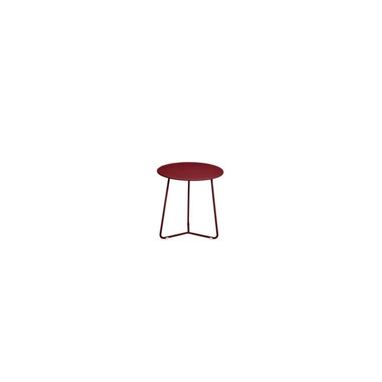 Table d'appoint cocotte FERMOB piment  Ø34x36 659505
