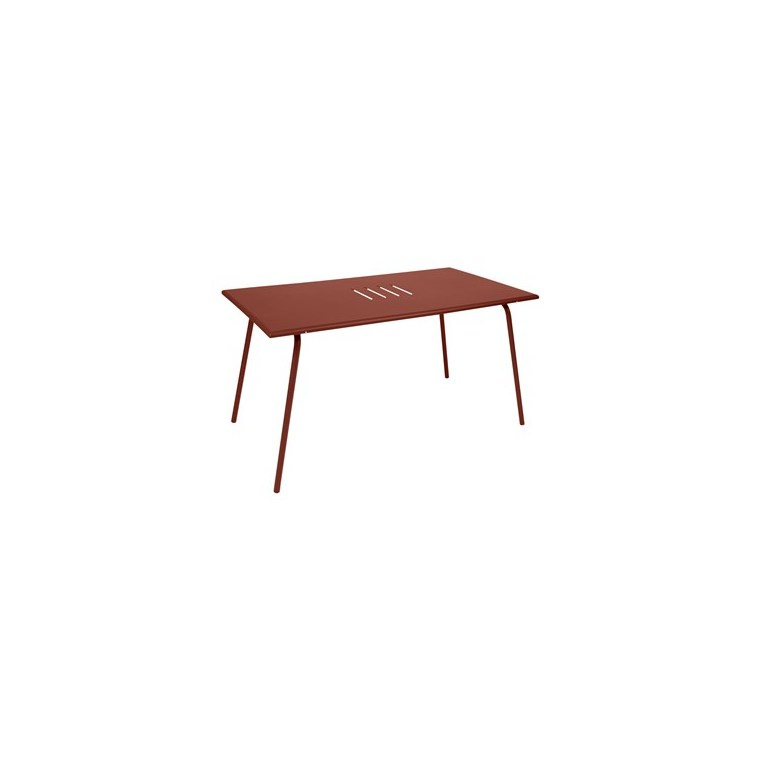 Table Monceau FERMOB ocre rouge L146xh80xh74 659522