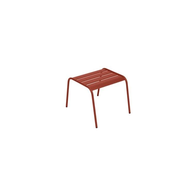 Table basse Monceau FERMOB ocre rouge L59,5xl48xh41 659527
