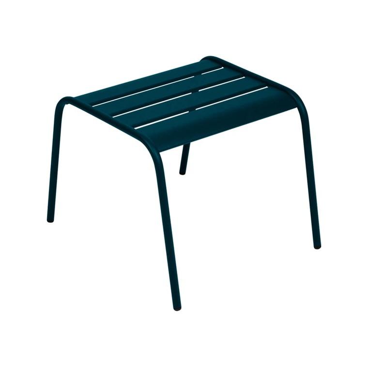 Table basse Monceau FERMOB bleu acapulco L59,5xl48xh41 659528