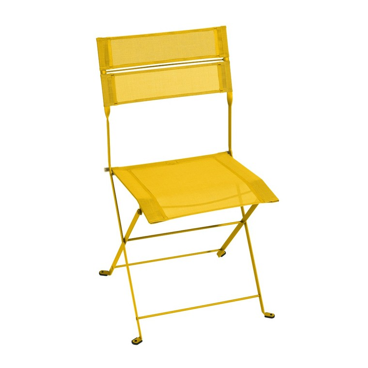 Chaise Latitude monochrome jaune miel 50 x 49 x 87 cm 659530