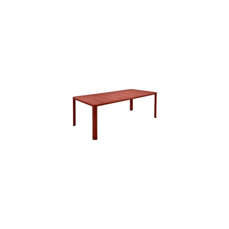 Table Oléron XL Ocre rouge 659538