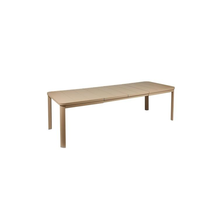 Table Oléron muscade et ses 2 allonges 659542