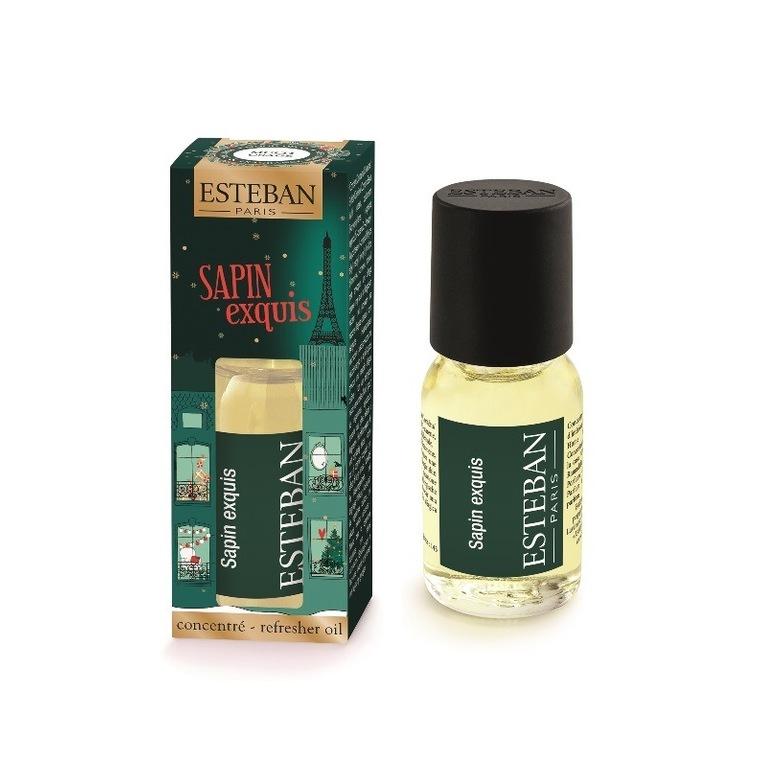 Concentré de parfum Sapin Exquis en flacon compte-goutte vert 15 ml 660278