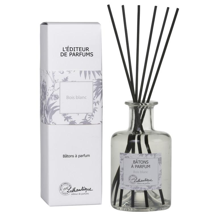 Bâtons à parfum senteur bois blanc de 200 ml 660284