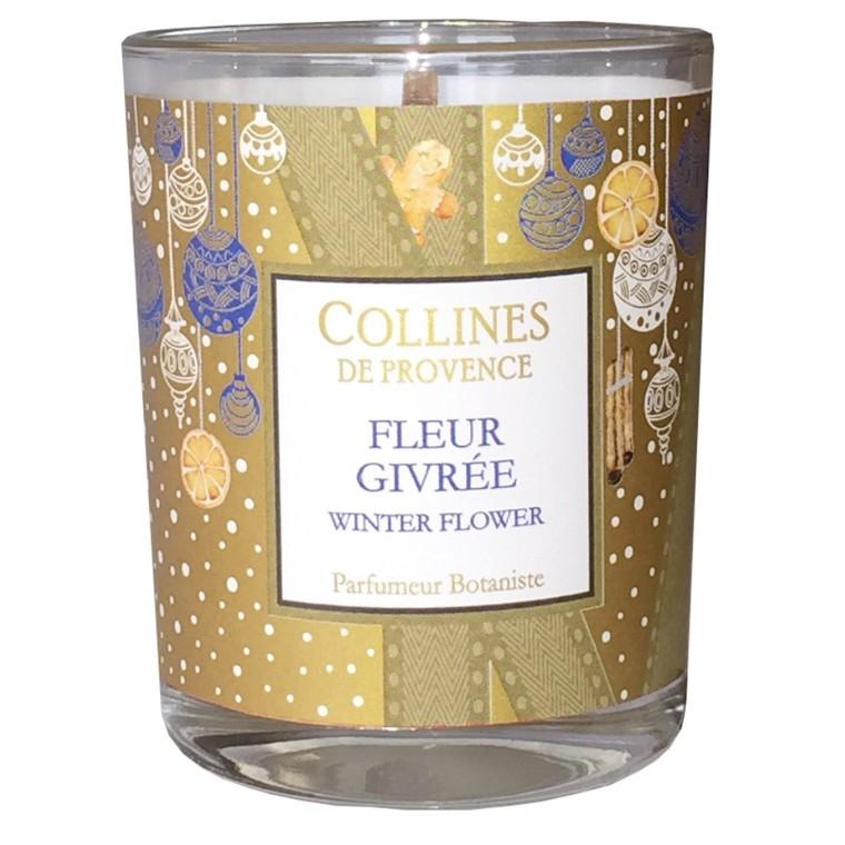 Bougie parfumée senteur fleur givrée blanche de 75 g 660314
