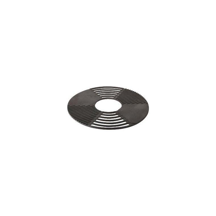 Grille-plaque pour barbecue en fonte grise Ø 60 cm 662092