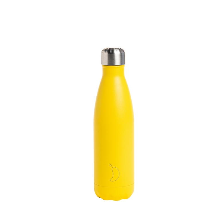 Bouteille isotherme Chilly's 500ml - Matte burnt yellow 662203