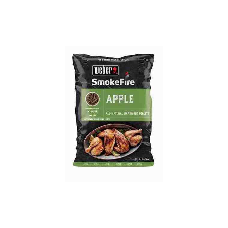Pellets pomme Weber en sac de 9 kg 662222