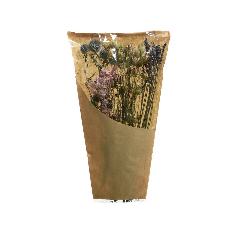 Mix de fleurs séchées roses naturelles 662402