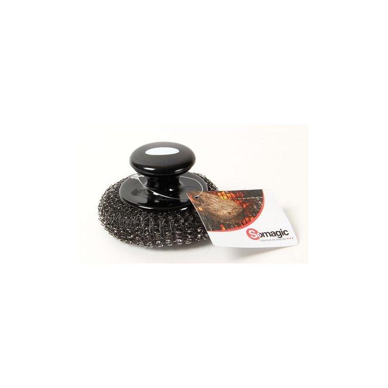 Brosse de nettoyage en inox Somagic spécial plancha 662736