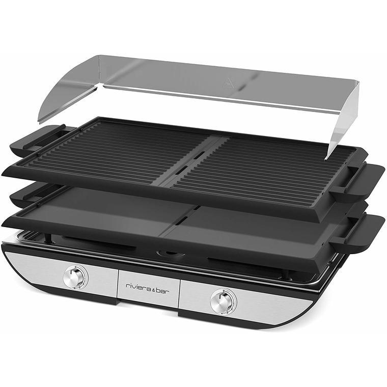 Plancha grill amovible QPL700 riviera&bar® 2300 W 663927