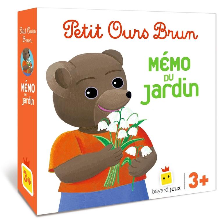 Jeu Petit Ours Brun Mémo du Jardin dès 3 ans Bayard Jeux 664008