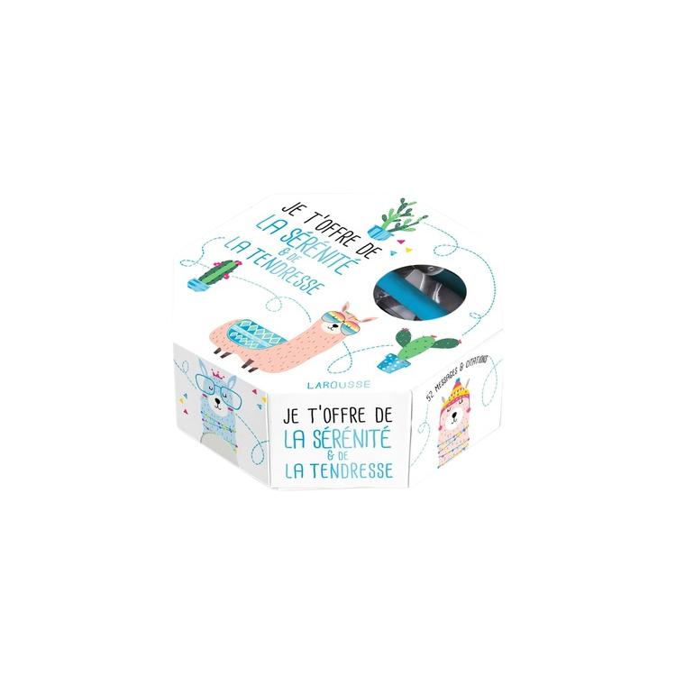 Je T'offre de la Sérénité et de la Tendresse Larousse Hachette 664519