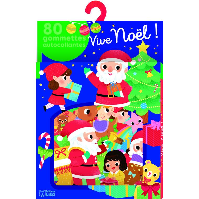 Ma boîte à gommettes Vive Noël ! x 80 gommettes autocollantes 664527