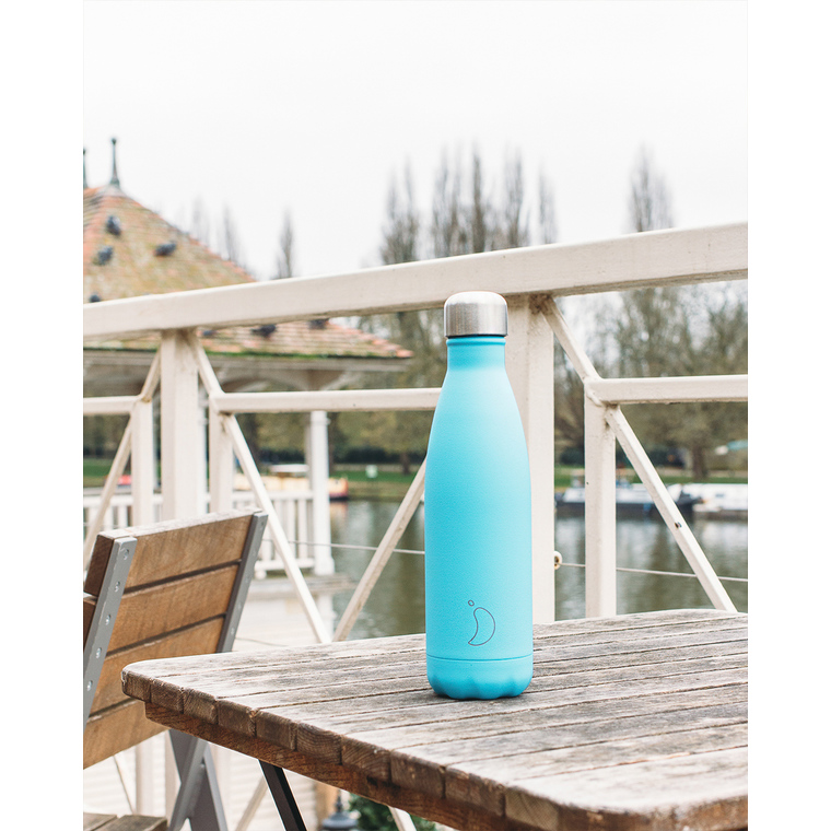Bouteille isotherme Chilly's 500ml - Pastel green 665524