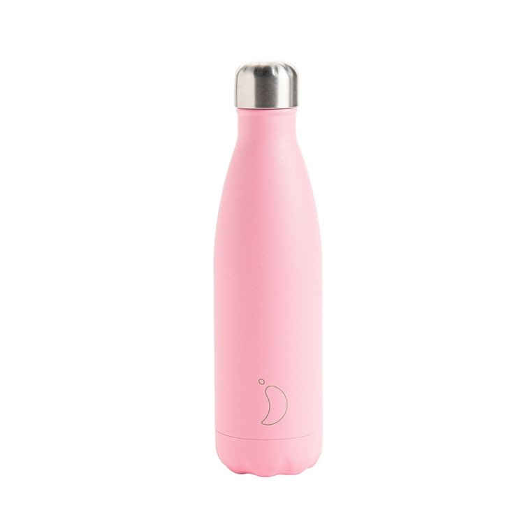 Bouteille isotherme Chilly's 500ml - Pastel pink 665525