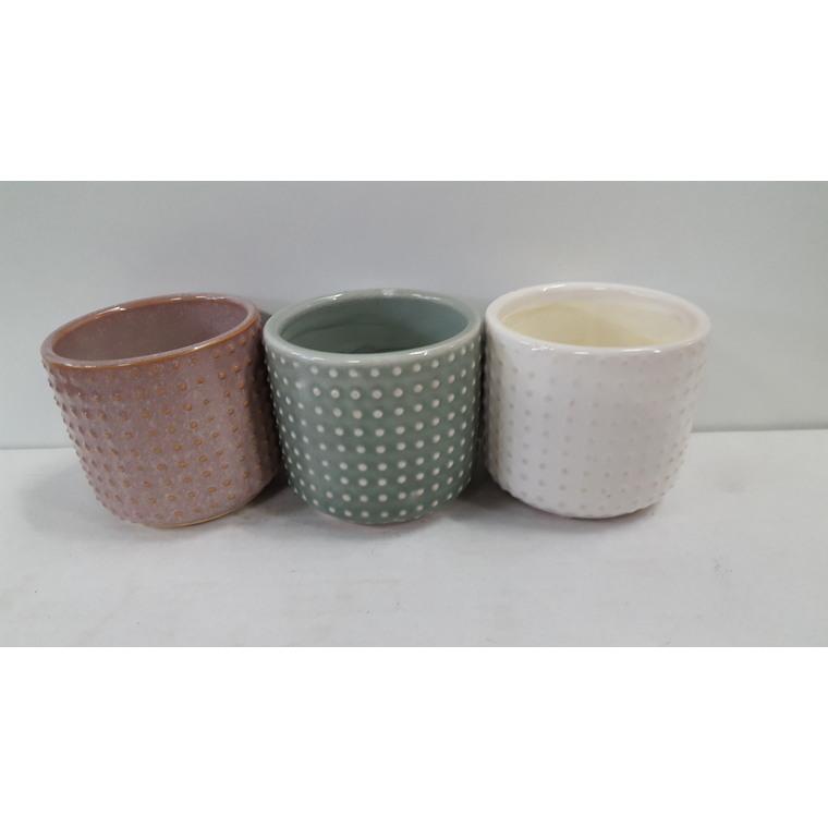 Cache-pot Baby Roundy Ø 6 x H 6 cm Céramique 665668