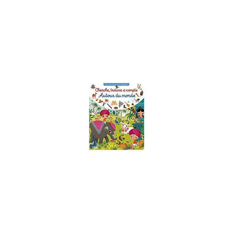 Cherche, trouve et compte autour du monde éditions Lito 666025
