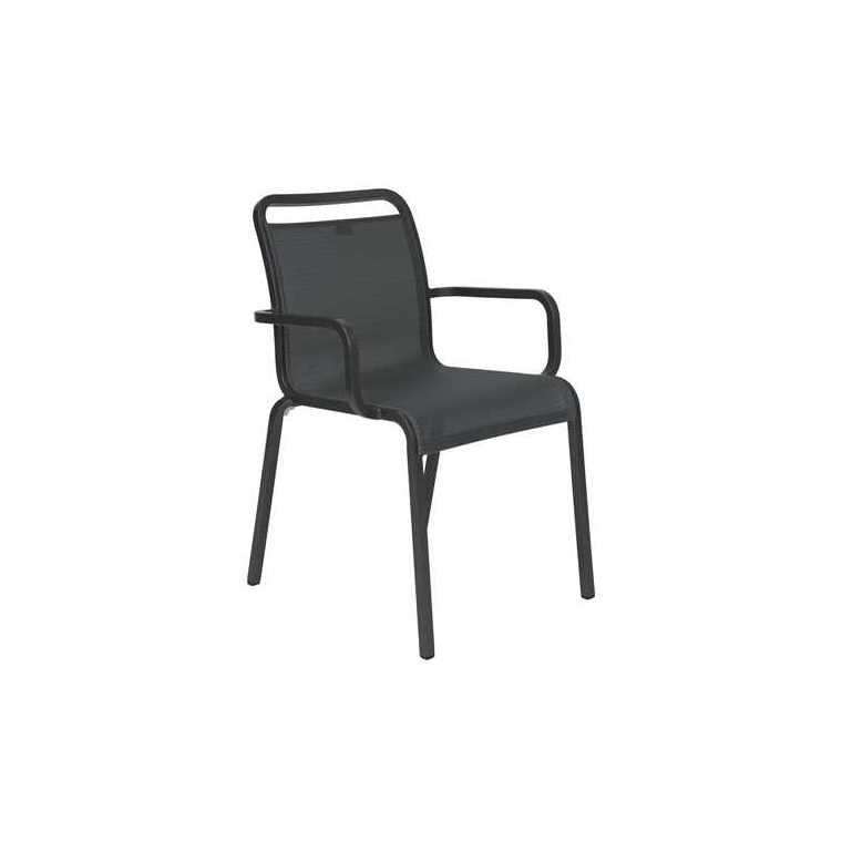Fauteuil OSKAR couleur noir 668205