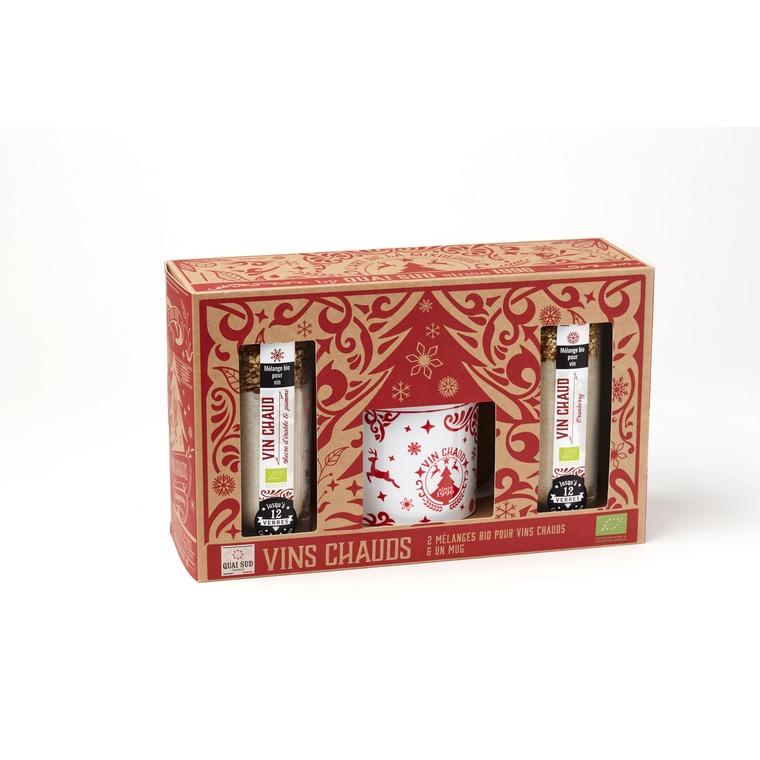 Coffret vins chauds bio et mug de Noël - 285 g 669348