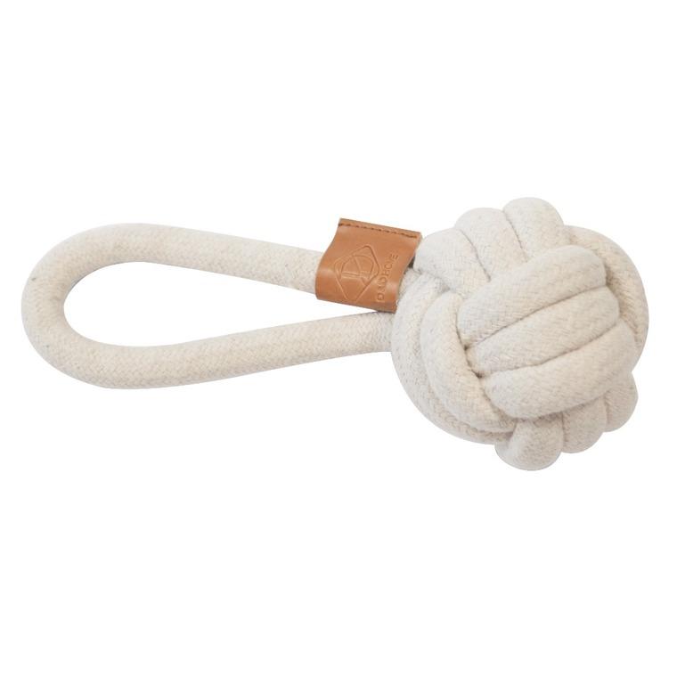 Corde balle et boucle Harper beige taille S Ø 12 x L 22 cm 671874