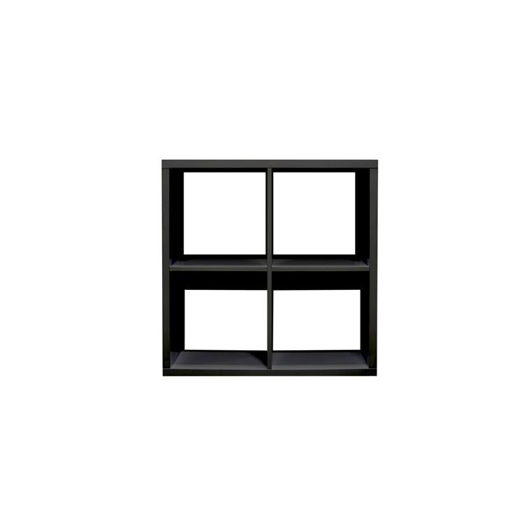 Meuble Home 110 Noir 77,5x36x78 cm 672111