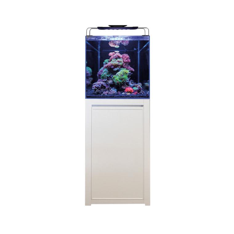Bm Aquarium Reef 125 Blanc 50x50x50 cm+ Meuble 50x50x86 cm 672139
