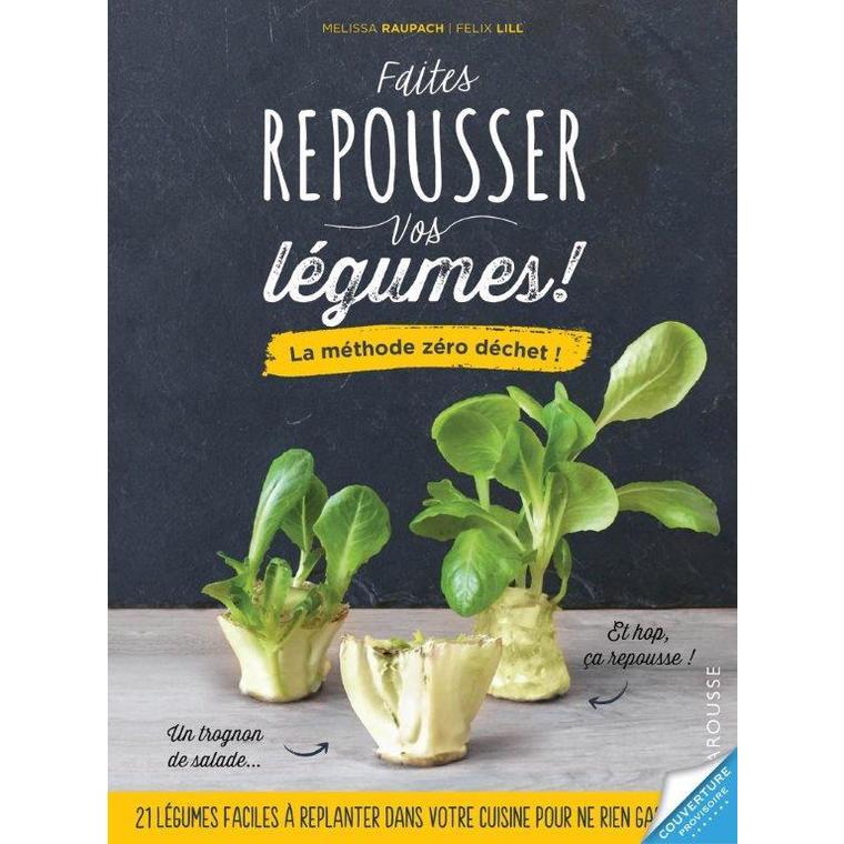 Faites repousser vos légumes ! aux éditions Hachette 672205