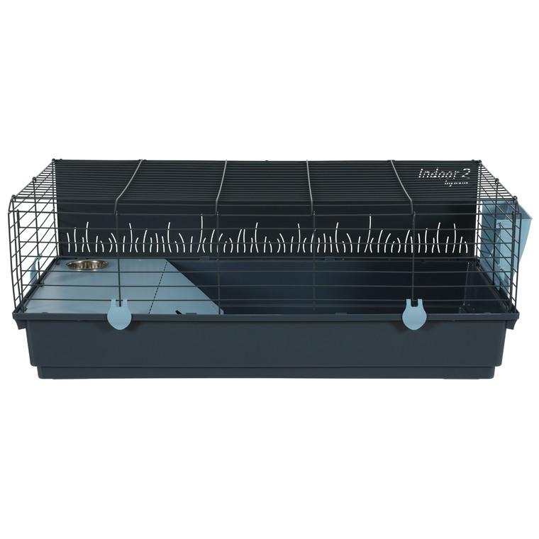 Cage Indoor 2 100 cm en métal bleu clair 103x63x39,5 cm 672600