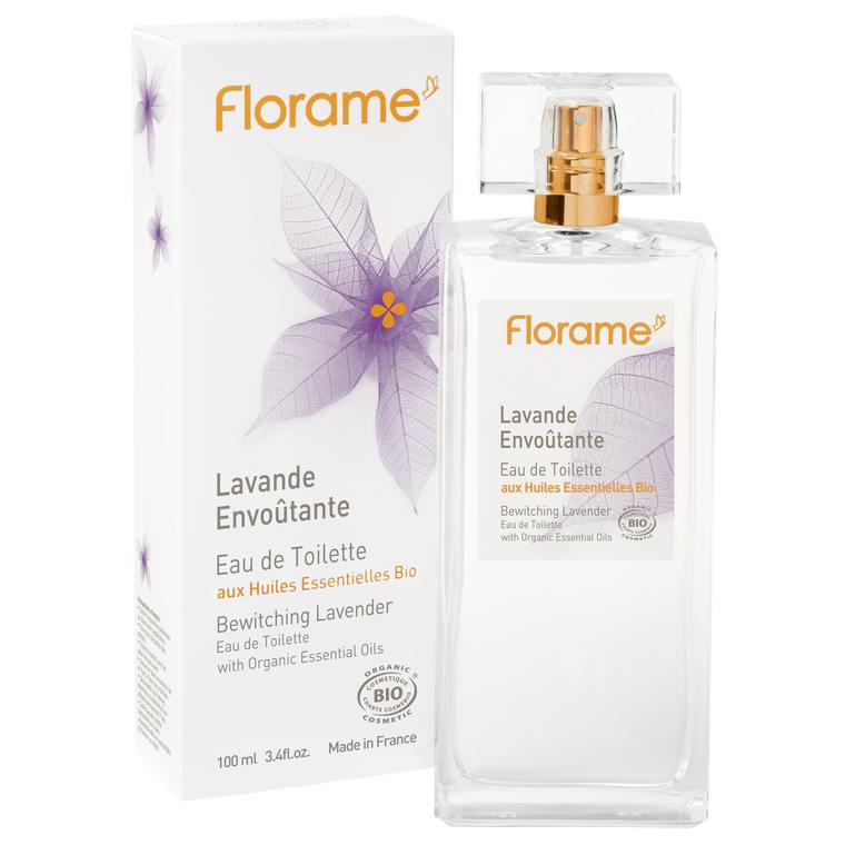 Eau de toilette Lavande Envoûtante flacon spray 100 ml transparent 672796