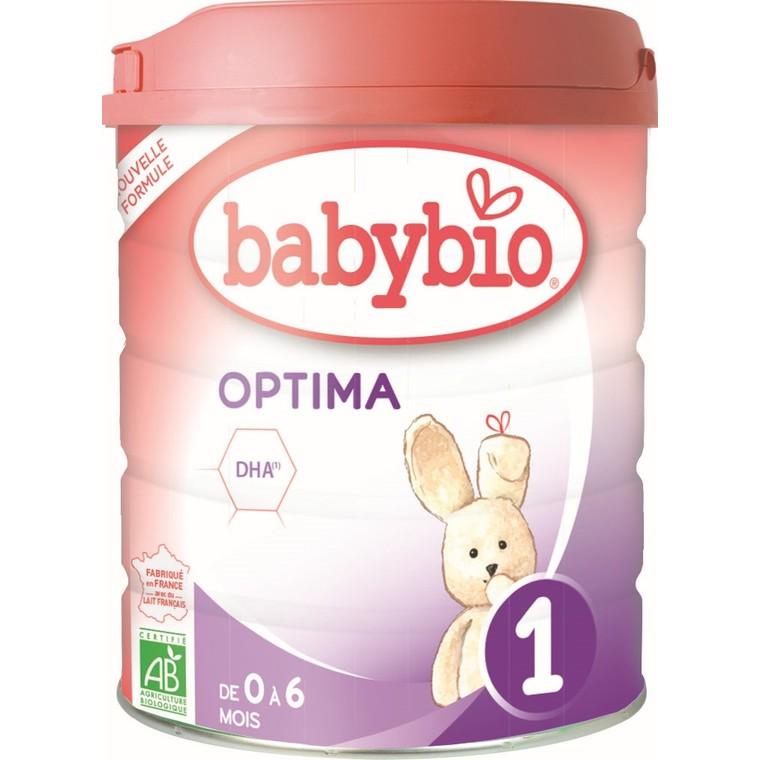 BABYBIO Optima 1 de 0 à 6 mois – 800 gr 673933