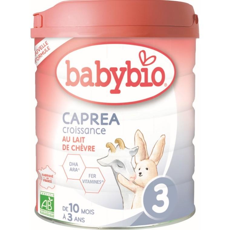Babybio Caprea 3 bio dès 10 mois – 800 gr 673934