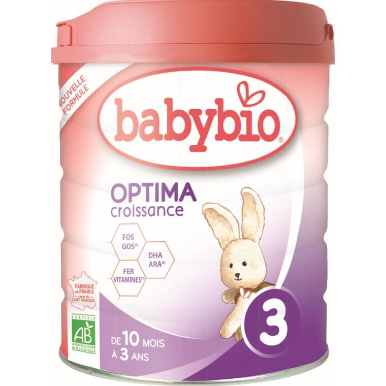 BABYBIO Optima 3 dès 10 mois – 800 gr 673935