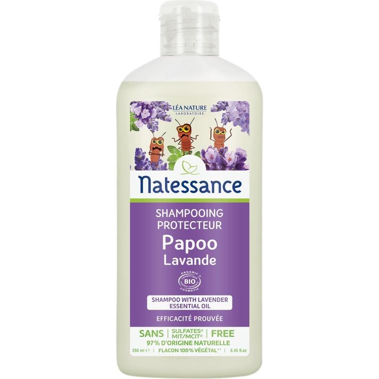 Shampoing Protecteur  Papoo Kids Lavande 250 ml blanc 674891