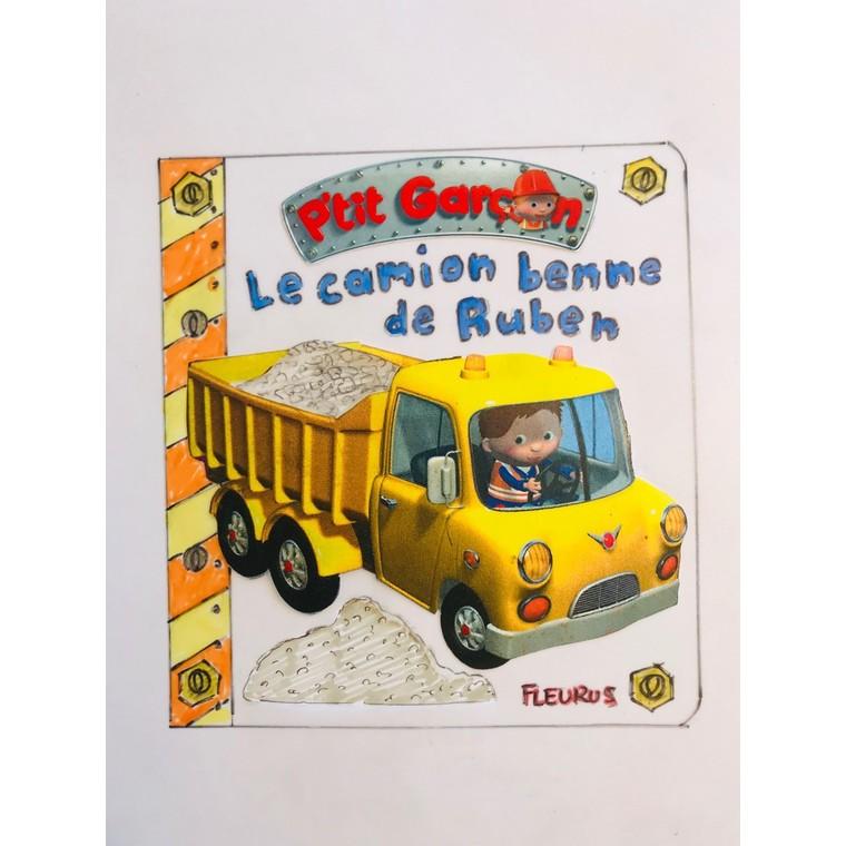 Le camion benne de Ruben aux éditions Fleurus 675009